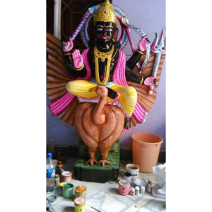 Shani Dev Black Statue