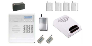 8 zones wireless home/business alarm systems