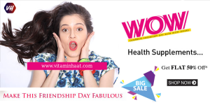 Vitaminhaat India online store. Celebrate Independence DAY 50% discounts & offers on health supple