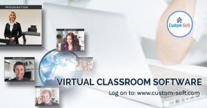 Customized Virtual Classroom software by CustomSoft