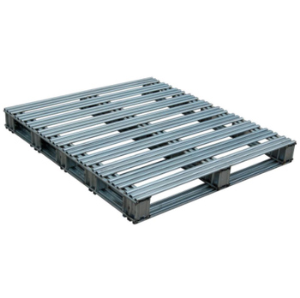 Used euro stacking steel pallet
