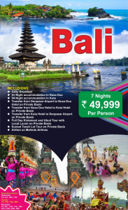 Bali Honeymoon Tour Packages From Delhi