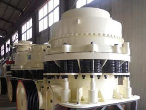 Processing and manufacturing of cone crusher