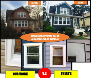 Before And After Royal Celect Siding