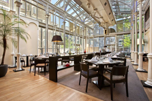 Woburn Place Dining Room at Hilton London Euston