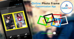 Online Photo frame customization and order app by CustomSoft
