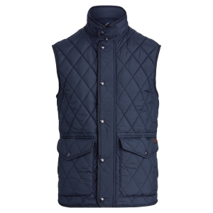 Polo Ralph Lauren The Iconic Quilted Gilet College Navy