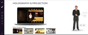 Web or video presenter