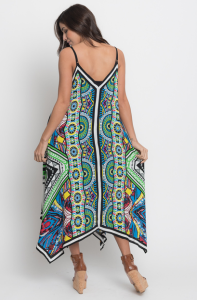 asymmetrical sexy maxi dress