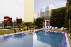 Lemon tree hotel Chennai swimming pool