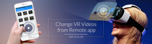 Virtual Reality Player Remote Application Development Company - VronCloud
