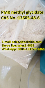 PMK intermediate PMK glycidate chemical powder, cas 13605-48-6