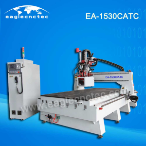 Woodworking Carousel ATC CNC Router Machining Center EA-1530CATC