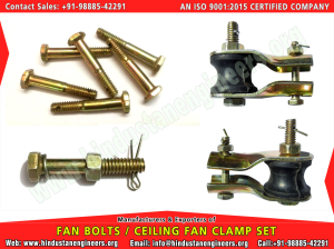 Fan Bolts / Fan Clamps