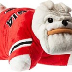 Fabrique Innovations NCAA Pillow Pet, Georgia Bulldogs