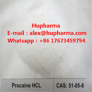 USA/UK domestic Hupharma Procaine HCL local anesthetic procaine hydrochloride