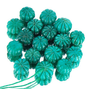 Buy Emerald Green Floral Carved Beads Available Only On eBay.