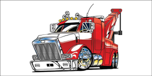 Red-Ginormous-Tow-Truck-Vector-Design