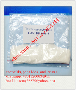 Testosterone Acetate raw steroid/anabolic powder supply whatsapp:+8613260634944