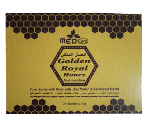 MEDCARE GOLDEN ROYAL HONEY (ONE BOX -24 SACHETS OF 10G)