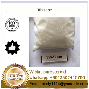 Raw Estrogen Steroid Powder Tibolone For Muscle Building whatsapp+8613302415760