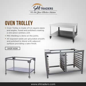 Get The Ideal and Spacify Kitchen trolley By SH Traders | SH Traders