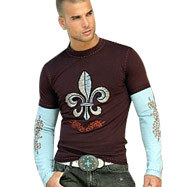 Chocolate Brown T Shirts for boys