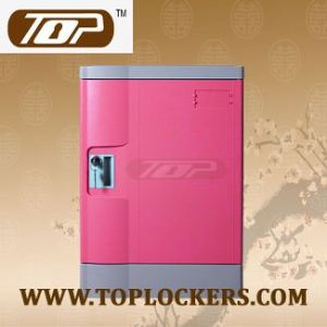 Four Tier School Locker, ABS Plastic, Multiple Locking Options