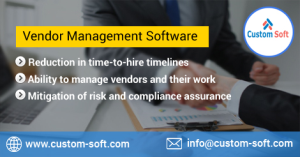 Vendor Management Software by CustomSoft