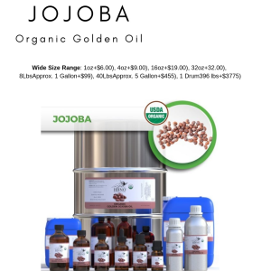 Shop Now! HBNO™ Organic Jojoba Oil - 100% Pure & Natural