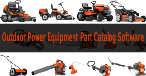 Outdoor Power Equipment Part Catalog Software