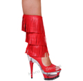 Knee High Boot Red Elegant