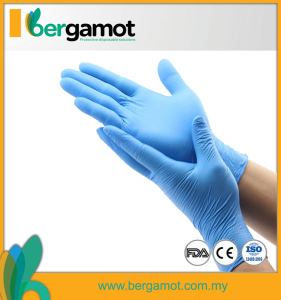 Nitrile Rubber Gloves Powder Free