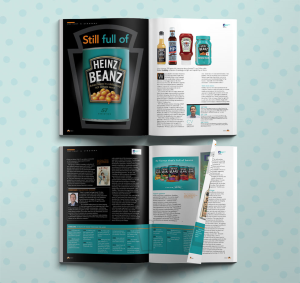 Editorial design for Impact magazine for the MRS