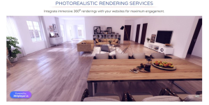 Photorealistic rendering services