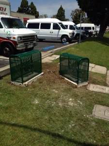 Backflow and Security Cages