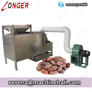 Cocoa Bean Peeling and Crushing Machine