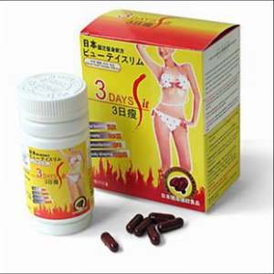 3 Day Fit Japan LINGZHI Slimming Capsules