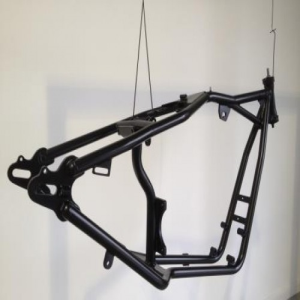 Ced Coating for Two Wheeler Chassis
