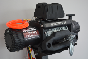 Best 12K 12000lb Carbon Winch with Steel Cable