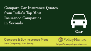 Compare and buy car insurance online | PolicyMantra