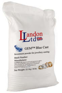 Investment powder (GEM Blue Cast)