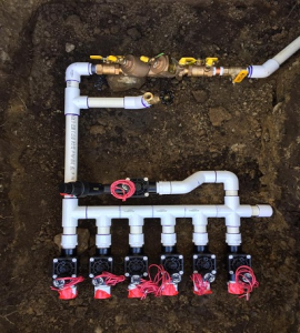 Irrigation Sprinkler Repair