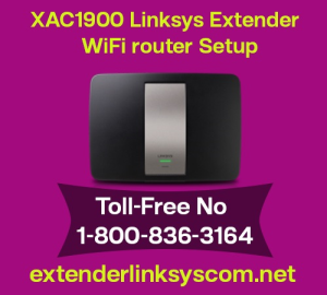 XAC1900 LINKSYS Extender WiFi Router