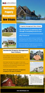 Multifamily Property Management New Orleans