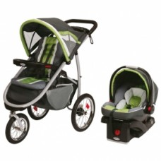 Graco FastAction Fold Jogger Click Connect Travel System - Piazza