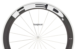 HED Jet 6 Flamme Rouge Clincher Wheel