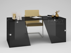 ZEBRA GLASS WORK DESK