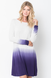 ombre tunic