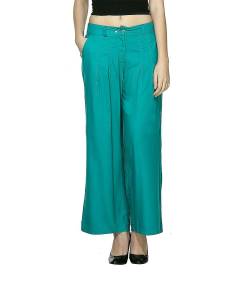 online shopping india - W Smart Casual GREEN PANTS